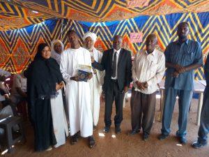مدير جامعة القرآن الكريم وتأصيل العلوم يخاطب اللقاء التنويري الجامع الأول للعاملين .