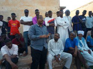 وفد إداري يزور كلية القرآن الكريم بالكاملين ويقف على مشكلات الطلاب بالكلية.